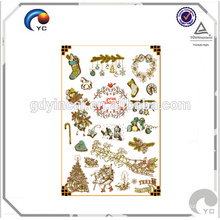 Kids Christmas Temporary Tattoo Stickers with Factory Price