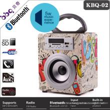 mobile phone accessories 800mAh Portable Wifi super bass speaker, bluetooth loudspeaker box