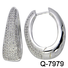 New Design Fashion Jewelry Earrings Huggies with Factory Competitive Price