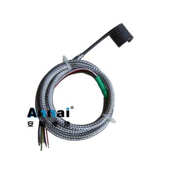 Aquecedor de bobina de mola de aquecimento industrial para aquecedor de câmara quente