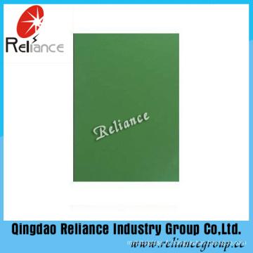 Verre teinté vert foncé avec ISO