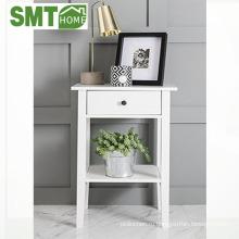 передвижная домашняя витрина мебель прикроватная деревянная тумба с ящиком