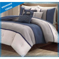 6 Piece Patchwork Style Polyester Comforter Set