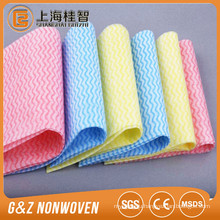 good price waved printed spunlace nonwoven fabric(roll material and perforated)