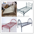 knock down double decker steel square tube bed