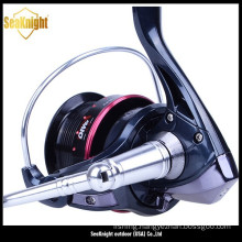 2015 New Arrival Hot Diwa YG 2000 Black Spinning Fishing Reel
