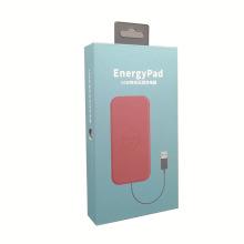Chargeur électronique numérique personnalisé emballage boîte de suspension de câble de données USB