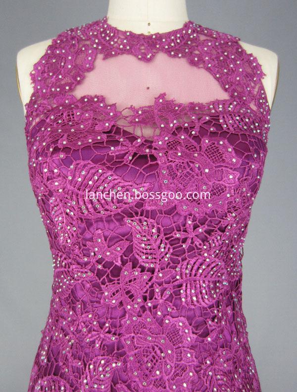 Mauve Prom Dress
