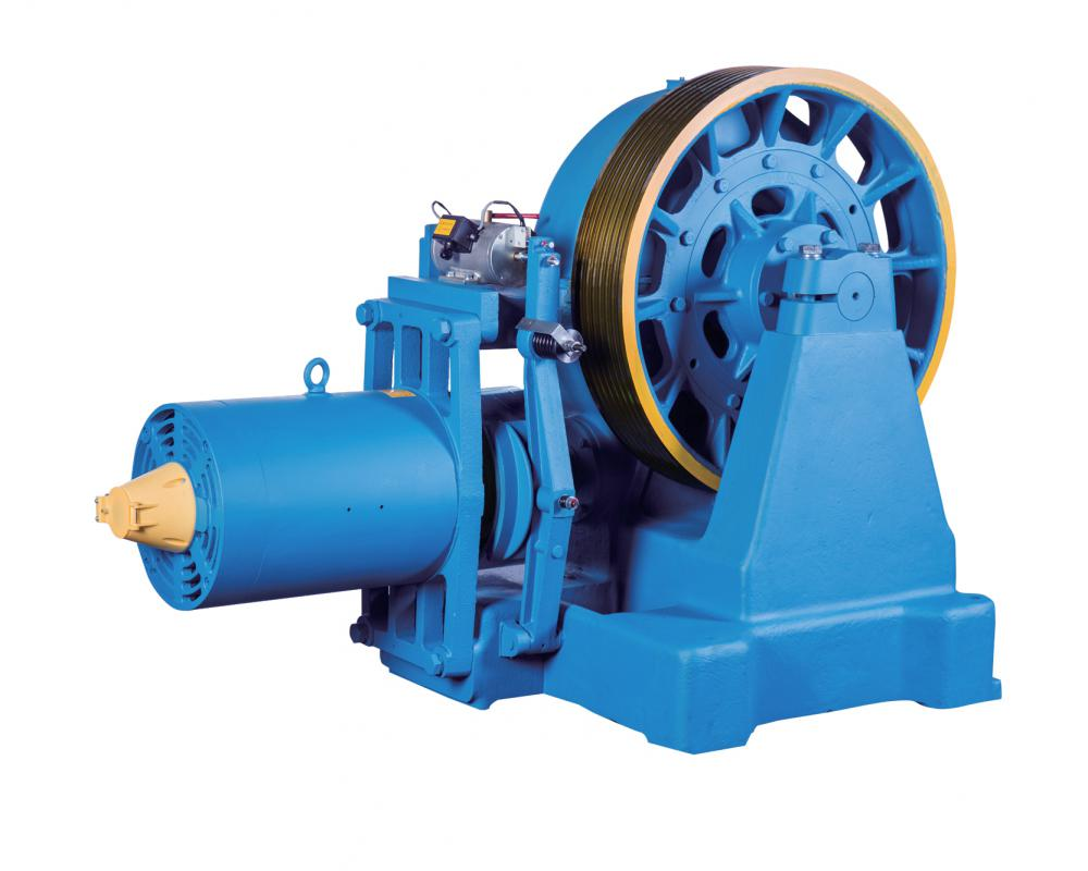 Geared Traction Machine-YJ360