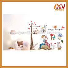 warmly home decoration stickers, large decorative wall stickers