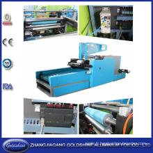 Feuille d'aluminium ménager rebobinage et découpage ligne Machine