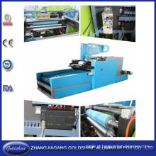 Folha de alumínio do agregado familiar do rebobinamento e linha de máquina de corte