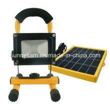 Luz de emergência solar recarregável portátil alta da inundação do diodo emissor de luz de Qualtiy