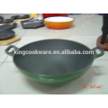 cast iron foundry China wok tray