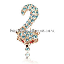 Charm plaqué 18k bijoux en or bijoux animaux broches anciens