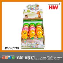 Venta caliente de dibujos animados hasta el polvo de juguete de plástico de caramelo