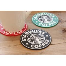 Promotional PVC Starbucks Coaster