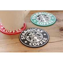 Promotional PVC Starbucks Coaster