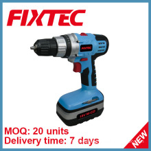 Fixtec Electric Power Tool 18V Cordless Drill with Ni-CD Battery