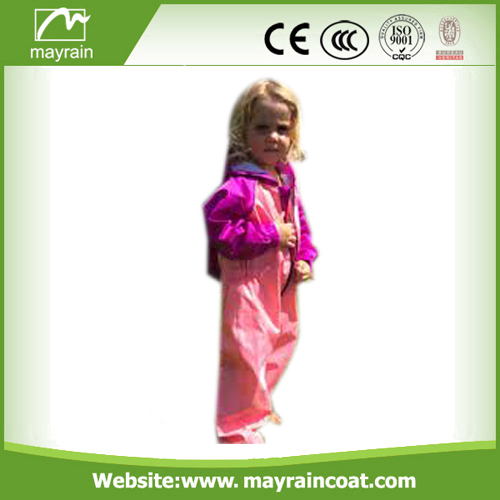 Kids Rain Pvc Poncho Rain suits