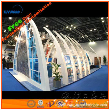 10'X10' wooden exhibition products display booth design,exhibition booth display designed by original manufacturer from Shanghai