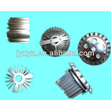 Disipador de calor de aluminio de la protuberancia del poder más elevado de Shenzhen oem