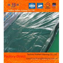 Impermeable cubierta de PVC hoja de lona con muchas especificaciones