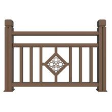 New generation outdoor pvc deck railing