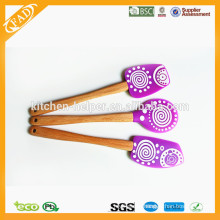 Hot Sales BPA Free FDA Approved Christmas Baking Pastry Silicone Spatula