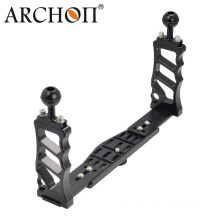 Two Hands Hold Gopro Rig Mounting Tray