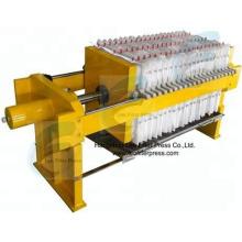 Prensa de filtro Leo Prensa de filtro manual, Funcionamiento mediante filtro manual Sistema hidráulico de prensa