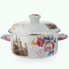hollow handle enamel strait pot & enamel cooking pot hollow handle enamel strait pot & enamel cooking pot