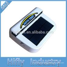 Ventilador portátil do carro HF-602 Ventilador movido a energia solar fresco auto / Ventilador solar do carro / Refrigerador posto solar do automóvel