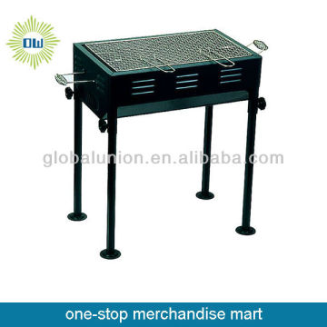 chinese bbq oven in black color