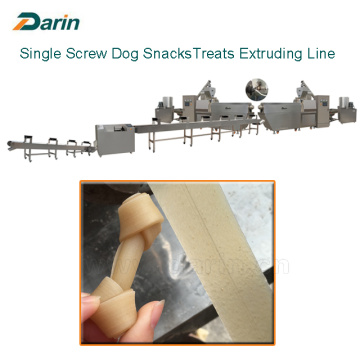 Dog Chewing Treats mengekstrusi Jalur Pengolahan