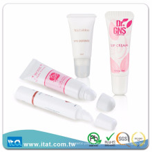 Offset printing surface handling skin care cosmetic PE tube packaging