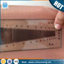 Telas de malla de cobre Emi electromagnéticas de protección del producto