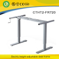 Manual height adjustable desk frame & modern furniture hand cranked adjustable table & space saving furniture