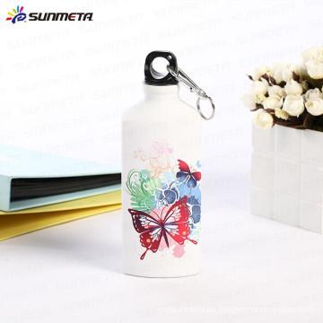 El precio de fábrica de Sunmeta 600ml se divierte la botella de los deportes de la sublimación de la forma del triángulo de la botella