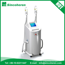 E-Licht IPL-Haar-Abbau-Laser-Pigment-Akne-Entferner-Haut-Verjüngungs-IPL-Schönheits-Maschine