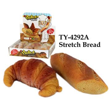 Juguete caliente divertido del pan del estiramiento