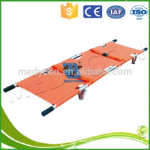 Emergency Aluminum Alloy Foldaway Stretcher(Two parts)