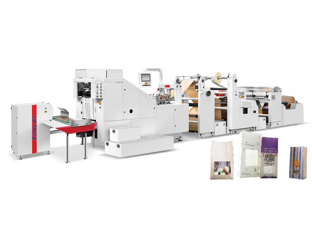 Automatic High Speed Paper Bag Machine With Window