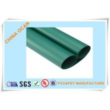 Película rígida de PVC para árbol X'mas, verde