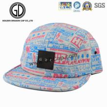 2016 5-Panel Cotton bunte Camper Snapback Cap mit benutzerdefinierten Logo