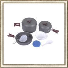 Batterie de cuisson anodisée dure Cl2c-Dt1715-5