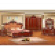 Cama king size para conjunto de mobília do quarto e mobília home (W803A)