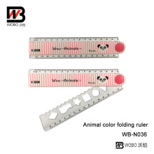 Plastic Color Ruler for School Stationery New