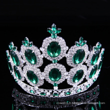 Concours Crown Rhinestone Tiara Crystal Ladies Crowns