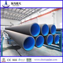 Novo design! HDPE Corrugated Pipe Atacado! Fornecedor chinês!